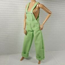 PANTS ~TALL TEEN SKIPPER DOLL EXTREME GREEN CORDUROY OVERALLS ACCESSORY CLOTHING