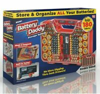 Battery Daddy Battery Organizer and Storage Case with Tester As Seen On TV