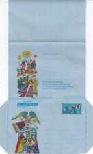 Gb 1969 Christmas Nativity air letter mint folded