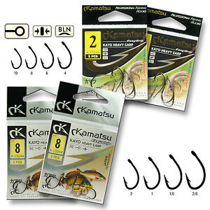 Very Strong Sharp Carp Fishing Hooks Carbon Steel Barbed Chemically Sharpened