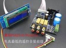 PGA2311 Stero Remote Volume Controller Preamp preamplifier DIY kit (unsolder)
