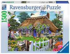 1500 Teile Ravensburger Puzzle Cottage in England 16297