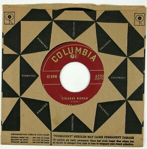 JUNE CARTER Strange Woman/Honey, Look What You've Done 7IN 1956 COUNTRY NM-