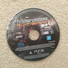 Transformers Fall of Cybertron playstation 3 PS3 Game - Disc Only