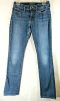 Lucky Brand Womens Sofia Straight Jeans Stretch Ankle Length Tag Size 4/27