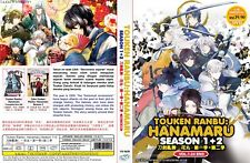 ANIME DVD~ENGLISH DUB~Touken Ranbu:Hanamaru Season 1+2(1-24End)~FREE SHIP+GIFT