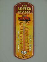 9977731-x Vintage Wand-Thermometer Targa di Latta Auto Garage 30x10cm