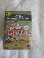 2017 Topps Heritage Blaster Box 8 Packs Arron Judge Hot Box  Possible Walmart