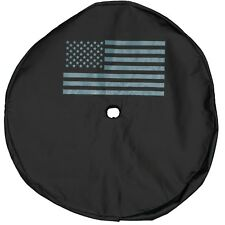 2018 JEEP WRANGLER JL SPARE TIRE COVER WITH AMERICAN FLAG LOGO OEM NEW MOPAR