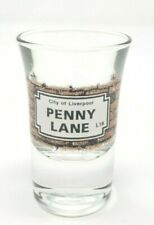 Penny Lane Liverpool England Shot Glass Barware Man Cave