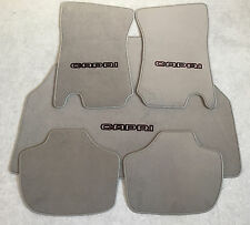 Autoteppich Fußmatten Kofferraum Set Ford Capri 2-3 Grau-schw. 5tlg. Neu Velours