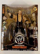 "WWE UNDERTAKER MAXIMUM AGGRESSION SERIES 2 FIGURE 2008 JAKKS 12"""