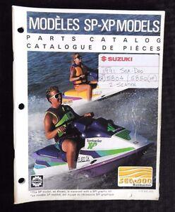 GENUINE 1991 SEA DOO SP 5804 XP 5850 JET SKI WATERCRAFT WAVERUNNER PARTS MANUAL