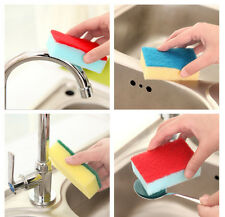 10x Household Cleaning  Dishes Sponge Eliminate Besmirch Cleaning Tool Good Use