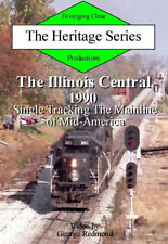 Illinois Central 1990 Single Tracking Mainline of Mid-America DVD NEW IC #2500