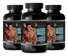 Testosterone Booster 742 - Potency Men - Muscle Growth - Fat Burner - 3 Bottles