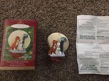 Hallmark Keepsake Disney Aristocats Thomas O'Malley & Duchess Christmas Ornament
