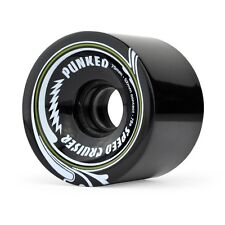 Yocaher Speed Cruiser 70Mm 78A Black Longboard Wheels