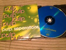 PULP - SEPARATIONS CD UK FIRE 1992 - INDIE POP