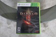Diablo III 3 (Xbox 360, 2013), CIB Complete, Tested, Works,  Free Shipping!
