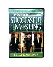 DVD VIDEO Pat Robertson Finance FINANCIAL BOOT CAMP SUCCESSFUL INVESTING