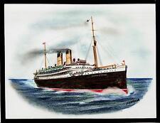 Original Art Work..RMS EMPRESS OF IRELAND.... ocean liner...Canadian Pacific