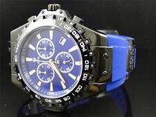 Aqua Master Jojo Joe Rodeo Blue Rubber Swiss Signature 26 Diamond Watch 48 MM
