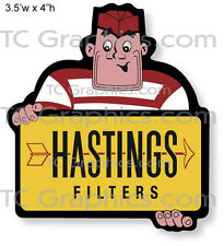 Hastings Filters Decal Nostalgia vinyl sticker