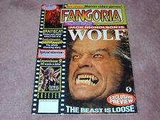 FANGORIA # 131 - Jack Nicholson WOLF - Free shipping in USA