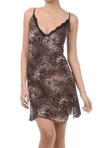 Womens Plus 1X,2X,3X Sexy Negligee Chemise Babydoll Sleepwear Leopard Print !