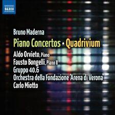 Maderna: Piano Concertos; Quadrivium, New Music