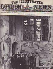 1940 London News November 23-Coventry Destruction;WAAF