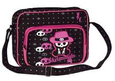 Skelanimals Chungkee Monkey Skull Black Pink Gothic Shoulder Strap Pocket Bag