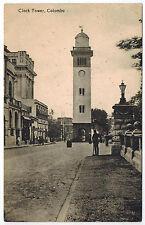 Clock Tower in Colombo, Ceylon, 1920s