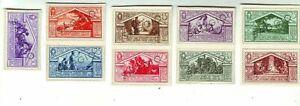 SAGGIO  1930 SPECIMEN ITALY 1930 Mint ITALY 1930 SAGGIO VIRGIL CARD  RARE SET