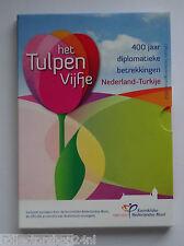 Netherlands 2012 Het Tulpen Vijfje  Euro Zilver Proof