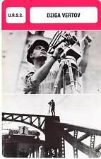 FICHE CINEMA :  DZIGA VERTOV -  URSS (Biographie/Filmographie)