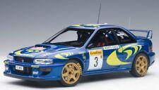 89790 AUTOart 1:18 SUBARU Impreza WRC 1997 #3 Monte Carlo Rally