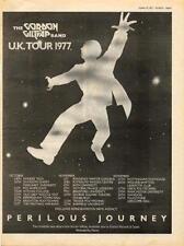 Gordon Giltrap Perilous Journey UK Tour advert 1977