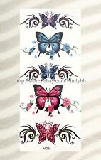 US SELLER-tramp stamp cover up ideas buttefly temporary tattoo