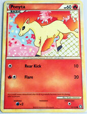 Pokemon Cards PONYTA 72/102 HGSS TRIUMPHANT COMMON (EX)