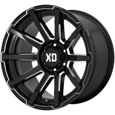 "XD Series XD847 Outbreak 20x9 6x5.5"" +18mm Black/Milled Wheel Rim 20"" Inch"