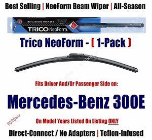 Super Premium NeoForm Wiper Blade Qty 1 fits 1986-1993 Mercedes-Benz 300E 16240