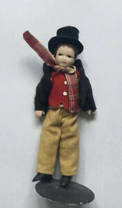 Dolls House Victorian Boy - 12 cm