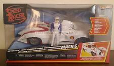 MATTEL *SPEED RACER BATTLE MORPH MACH 6* HOT WHEELS  NOS 2007