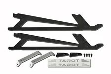 500 Helicopter Spare part Tarot Metal carbon landing gear skids set TL8026-02