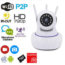 Ip Camera Telecamera 355° Hd Wifi 3 Antenne Motion Sd Videosorveglianza linq
