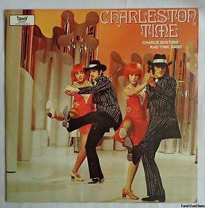 "jazz CHARLIE BOSTONS RAG-TIME BAND Charleston time 12"" LP VINYL"