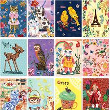 Beautiful 60sh Nathalie Lete Mini Postcard Writing Stationery Paper 36 Envelope