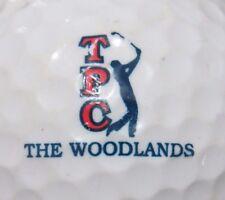 TPC THE WOODLANDS GOLF COURSE LOGO GOLF BALL